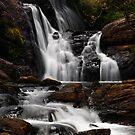 Bakers Fall. Horton Plains National Park. Sri Lanka by JennyRainbow