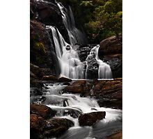 Bakers Fall. Horton Plains National Park. Sri Lanka Photographic Print