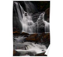 Bakers Fall III. Horton Plains National Park. Sri Lanka Poster