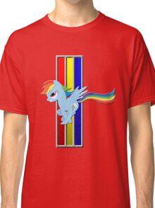 Mustang Rainbow Dash (Logo) Classic T-Shirt