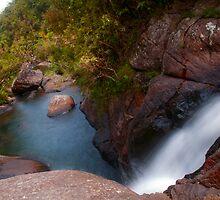 Bakers Fall VI. Horton Plains National Park. Sri Lanka by JennyRainbow