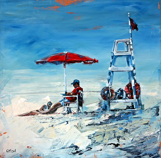 Lifeguard Off Duty by Claire McCall