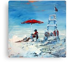 Lifeguard Off Duty Metal Print