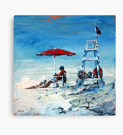 Lifeguard Off Duty Canvas Print