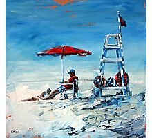 Lifeguard Off Duty Photographic Print