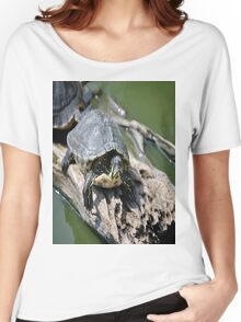 Red eared slider Women's Relaxed Fit T-Shirt