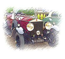 1929 Rolls Royce 20/25 .. a star of Blandings! Photographic Print