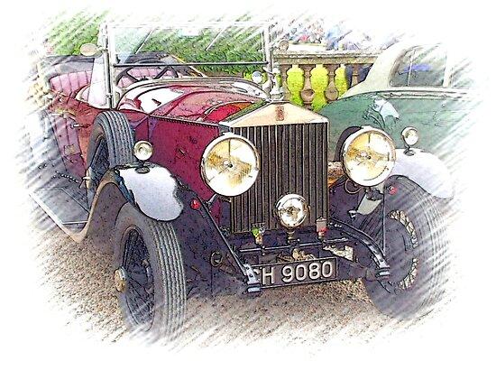 1929 Rolls Royce 20/25 .. a star of Blandings! by oulgundog