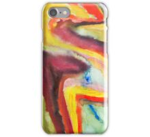 Abstract Watercolor iPhone Case/Skin