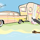 A day at the beach by Diana-Lee Saville