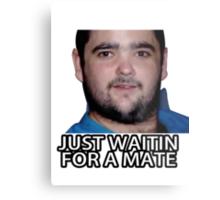 Just Waitin for a Mate Metal Print