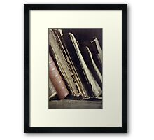Well read Framed Print