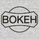 BOKEH logo dark iteration by dennis william gaylor