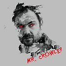 Mister Crowley Watercolor by Tracey Gurney