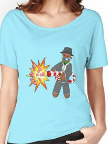 Gingerbread Gangster Women's Relaxed Fit T-Shirt