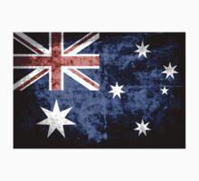 Grunge Australia Flag 3 One Piece - Short Sleeve