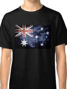 Grunge Australia Flag 3 Classic T-Shirt