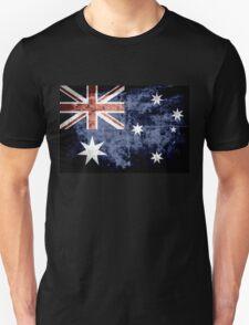 Grunge Australia Flag 3 T-Shirt