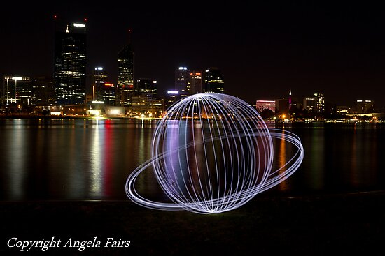 Perth Light Painting  by Angie66