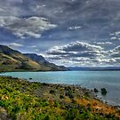 Lake Abert Blues by Charles & Patricia   Harkins ~ Picture Oregon