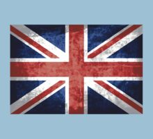 Grunge United Kingdom Flag 2 Baby Tee