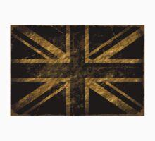 Grunge United Kingdom Flag 3 Kids Tee