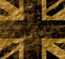 Grunge United Kingdom Flag 3 Sticker