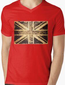 Grunge United Kingdom Flag 4 Mens V-Neck T-Shirt