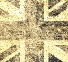 Grunge United Kingdom Flag 4 Sticker
