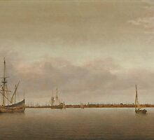 Abraham de Verwer View of Hoorn c. 1650 by Adam Asar