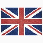 Grunge United Kingdom Flag 5 by Nhan Ngo
