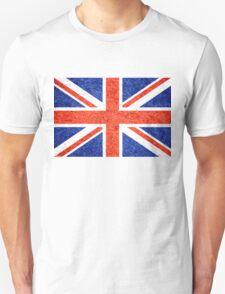 Grunge United Kingdom Flag 5 Unisex T-Shirt