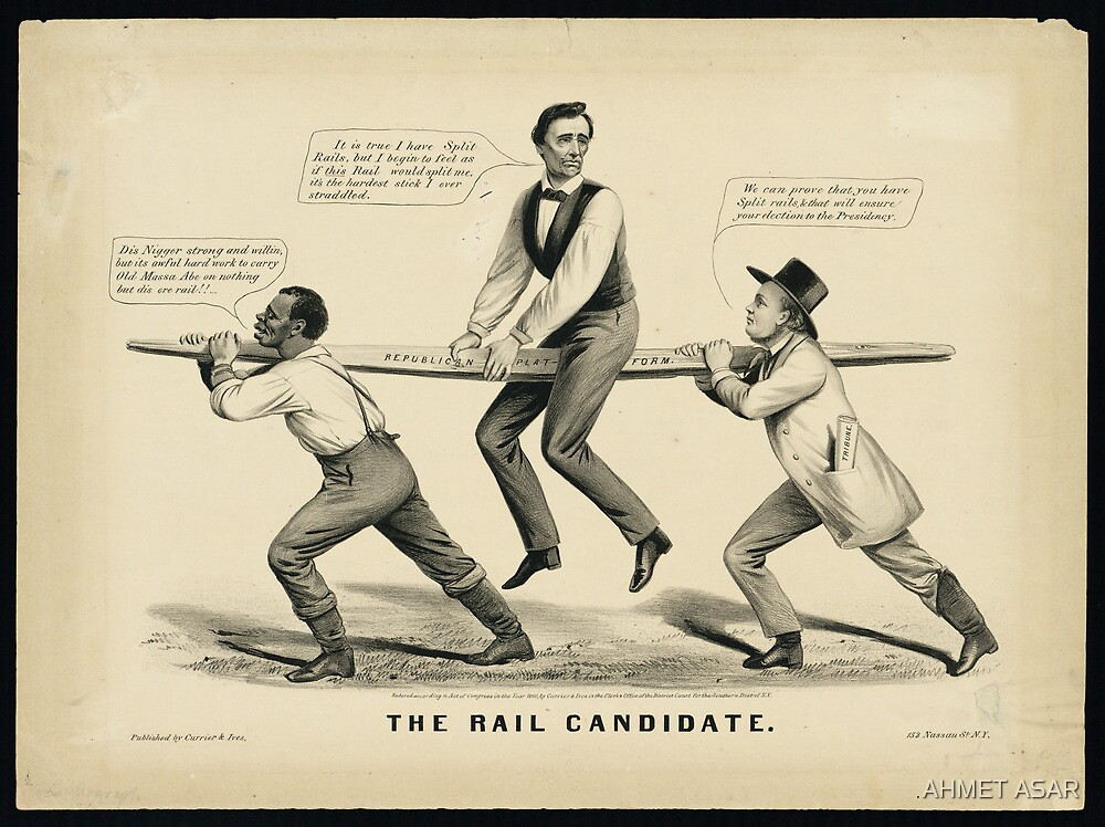 Abraham Lincoln  The Rail candidate by Adam Asar