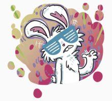 Neon Rabbit Sticker by Clair C