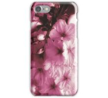 Pink Cherry Blossoms iPhone Case iPhone Case/Skin