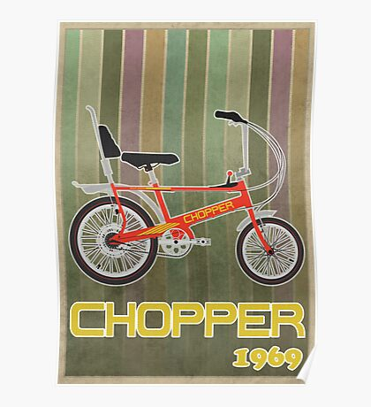 Chopper Bicycle Poster