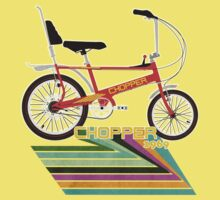 Chopper Bicycle One Piece - Short Sleeve