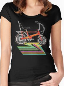 Chopper Bicycle Women's Fitted Scoop T-Shirt