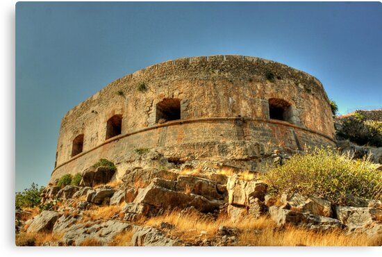 Spinalonga by larry flewers