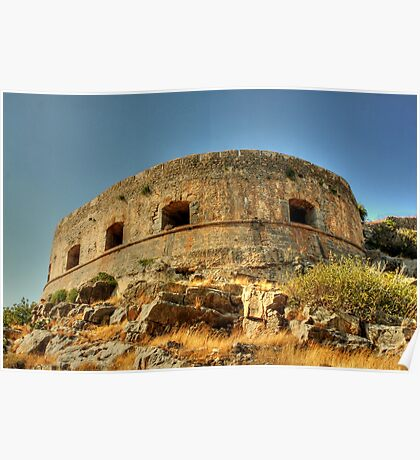 Spinalonga Poster