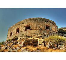 Spinalonga Photographic Print
