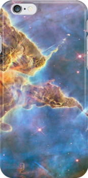 Carina Nebula iPhone iPod Case by wlartdesigns