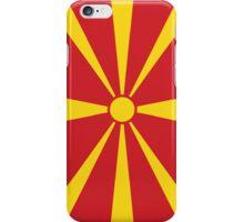 Macedonia Flag iPhone Case/Skin