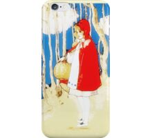Vintage Little Red Riding Hood iPhone iPod Case iPhone Case/Skin