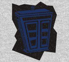 Minimalist TARDIS by LeeAnn Ellison
