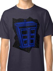 Minimalist TARDIS Classic T-Shirt