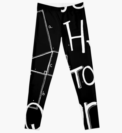 It's Hyp to be Squared (white) Leggings
