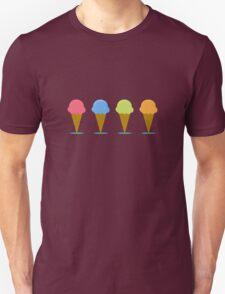 Ice creams Unisex T-Shirt