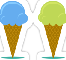 Ice creams Sticker