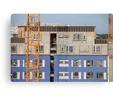 construction site Canvas Print